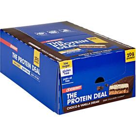 Enervit Protein Deal Bar Caja 25x55g, Choco Vanilla